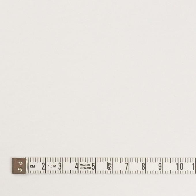 コットン&ポリウレタン×無地(ホワイト)×裏毛ニット イメージ4