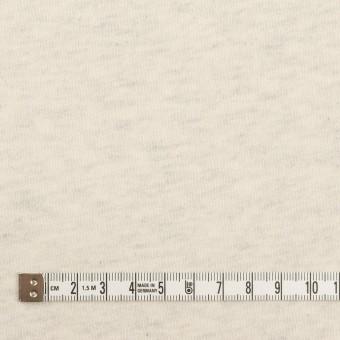 コットン×ミックス(キナリ&グレー)×裏毛ニット(裏面起毛) サムネイル4