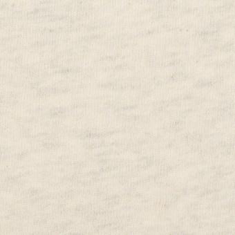 コットン×ミックス(キナリ&グレー)×裏毛ニット(裏面起毛) サムネイル1