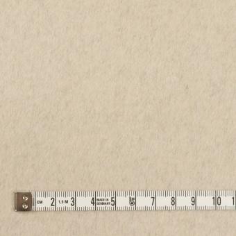 ウール&カシミア×無地(ブラック&バニラ)×ビーバー(Wフェイス) サムネイル6