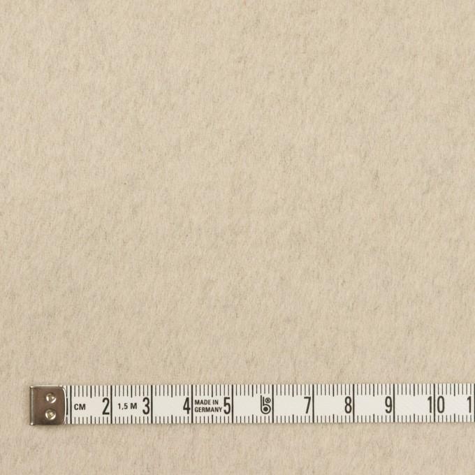 ウール&カシミア×無地(ブラック&バニラ)×ビーバー(Wフェイス) イメージ6