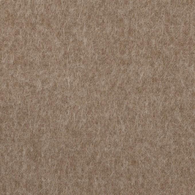 ポリエステル&コットン×無地(モカブラウン)×フランネル_全2色 イメージ1
