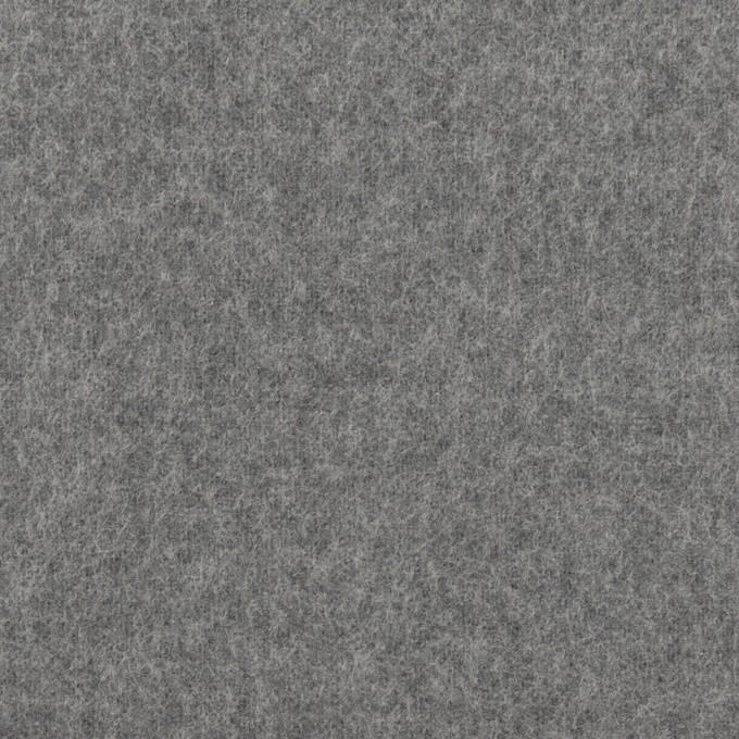 ポリエステル&コットン×無地(スチールグレー)×フランネル_全2色 イメージ1