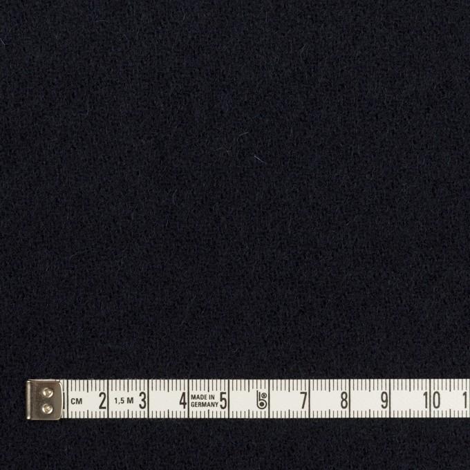 ウール×無地(ダークネイビー)×ガーゼ イメージ4