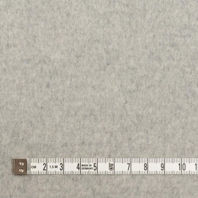 ウール&カシミア×無地(ライトグレー)×ビーバー イメージ4