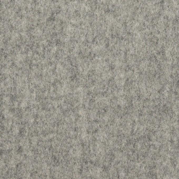 ウール×無地(グレー)×フラノ(フランネル) イメージ1
