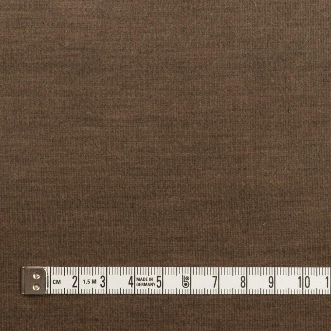 コットン&ポリウレタン×無地(モカブラウン)×細コーデュロイ・ストレッチ イメージ4