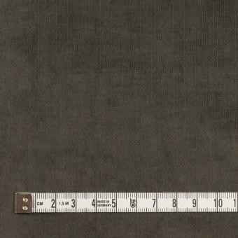 コットン&ポリウレタン×無地(チャコールグレー)×細コーデュロイ・ストレッチ サムネイル4