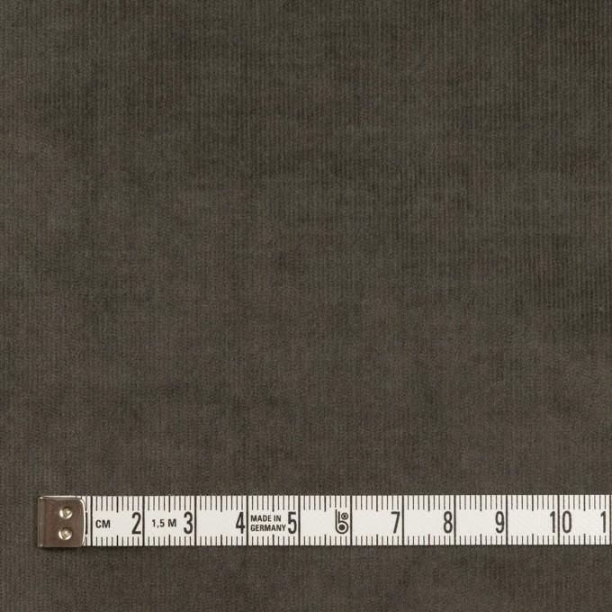 コットン&ポリウレタン×無地(チャコールグレー)×細コーデュロイ・ストレッチ イメージ4