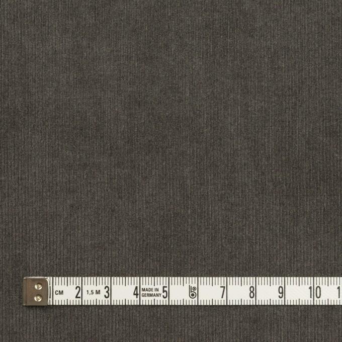 コットン×無地(チャコールグレー)×細コーデュロイ イメージ4