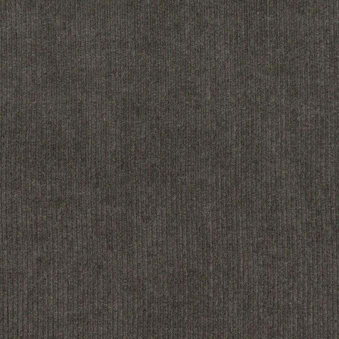 コットン×無地(チャコールグレー)×細コーデュロイ イメージ1