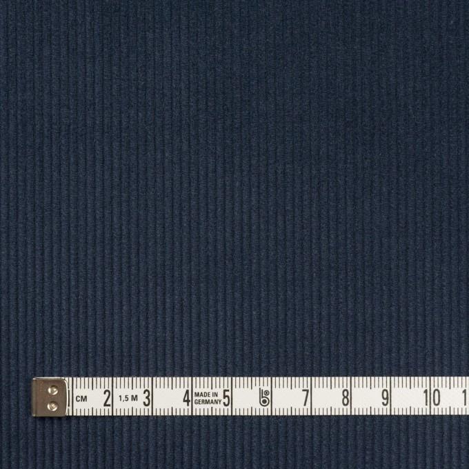 コットン×無地(ネイビー)×中細コーデュロイ イメージ4