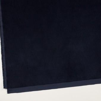 コットン&ポリウレタン×無地(ネイビー)×中細コーデュロイ・ストレッチ サムネイル2