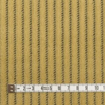 ウール×ストライプ(マスタード)×かわり織 サムネイル4