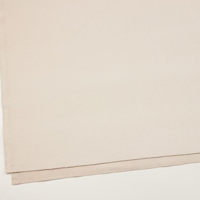 ウール&アンゴラ×無地(ミルク)×ビーバー イメージ2