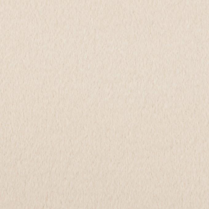 ウール&アンゴラ×無地(ミルク)×ビーバー イメージ1