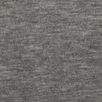 テンセル&ウール×無地(グレー)×天竺ニット