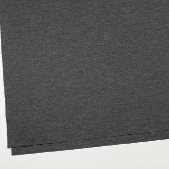 ウール×無地(チャコールグレー)×圧縮ニット サムネイル2