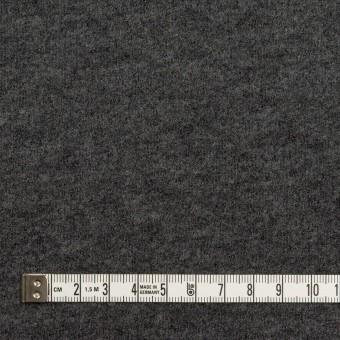 ウール&アクリル混×無地(チャコールグレー)×ループニット サムネイル4