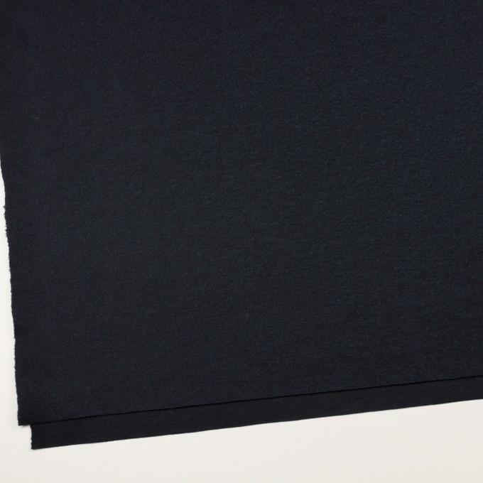 ウール&ナイロン×無地(ダークネイビー)×圧縮ニット イメージ2