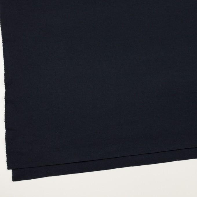 ウール&ナイロン×無地(ダークネイビー)×スムースニット イメージ2