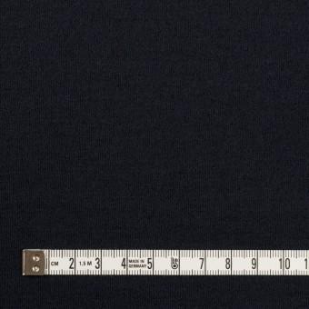 ウール&ナイロン×無地(ダークネイビー)×スムースニット サムネイル4