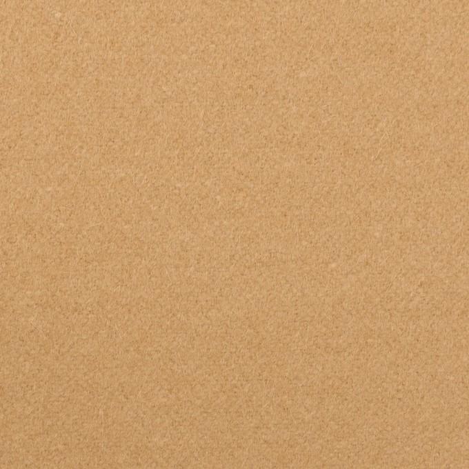 ウール&ナイロン×無地(コルク)×フラノ(フランネル) イメージ1