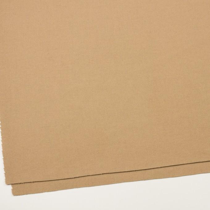 【160cmカット】ウール×無地(ベージュ)×ソフトメルトン イメージ2