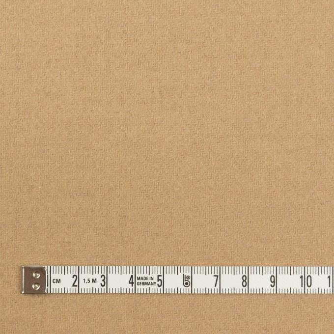 【160cmカット】ウール×無地(ベージュ)×ソフトメルトン イメージ4