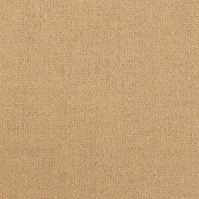 【160cmカット】ウール×無地(ベージュ)×ソフトメルトン イメージ1