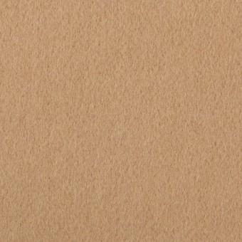ウール&ポリエステル×無地(チャイ)×ビーバー_イタリア製 サムネイル1