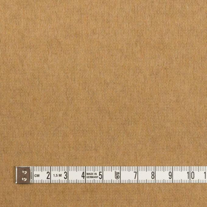 ウール&ナイロン×無地(キャメル)×圧縮ニット イメージ4