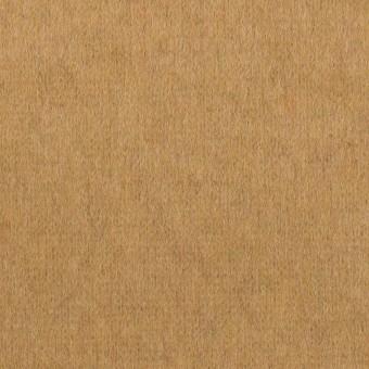 ウール&ナイロン×無地(キャメル)×圧縮ニット