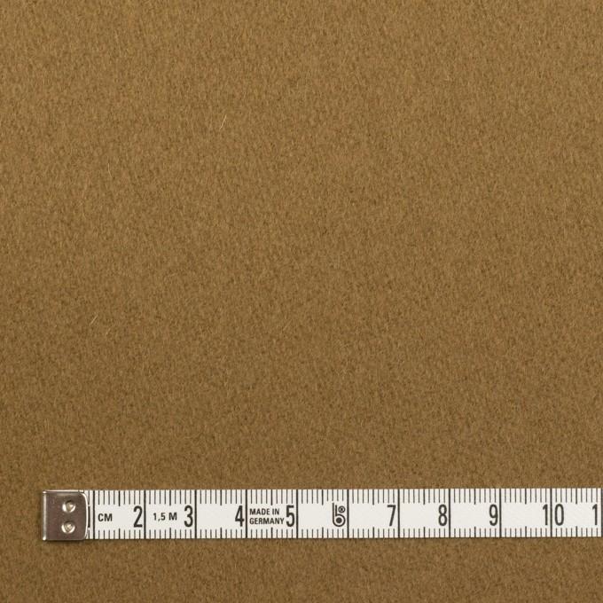ウール&ナイロン×無地(ジンジャー)×メルトン イメージ4