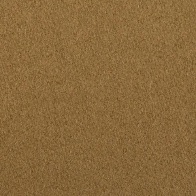 ウール&ナイロン×無地(ジンジャー)×メルトン イメージ1