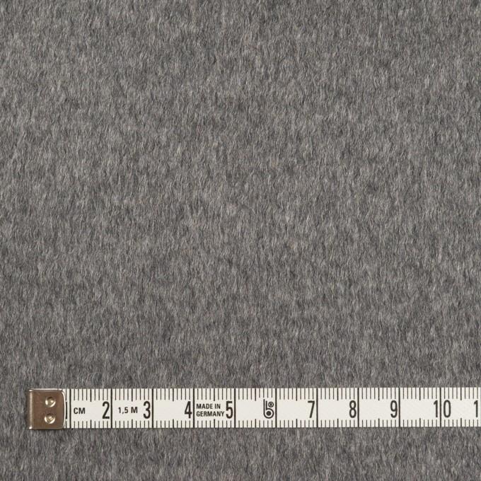 カシミア&ウール×無地(グレー)×ビーバー イメージ4