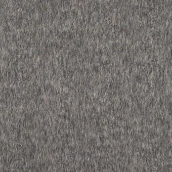 カシミア&ウール×無地(グレー)×ビーバー
