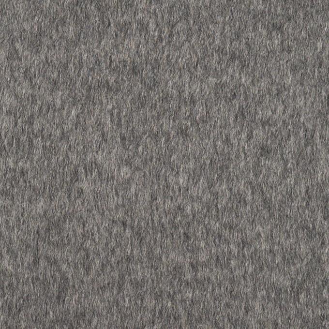 カシミア&ウール×無地(グレー)×ビーバー イメージ1