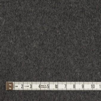 ウール&アンゴラ×無地(チャコールグレー)×ビーバー サムネイル4