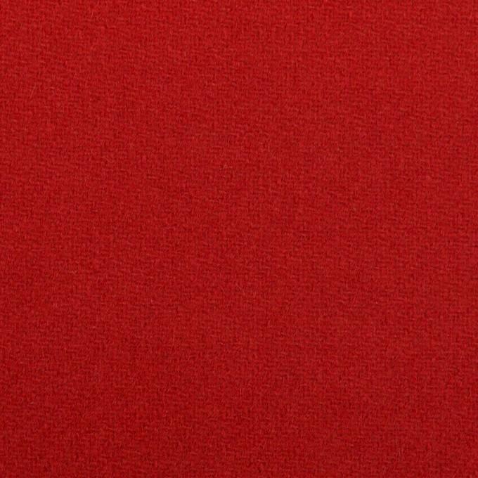 ウール×無地(レッド)×カルゼ イメージ1