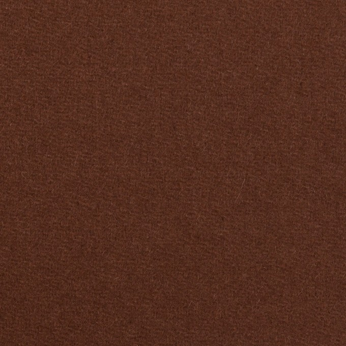 ウール×無地(ブラウン)×フラノ(フランネル) イメージ1