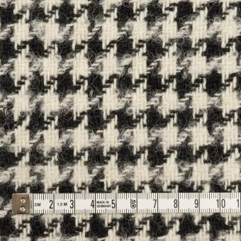 ウール&アルパカ混×千鳥格子(エクリュ&ブラック)×ファンシーツイード サムネイル4