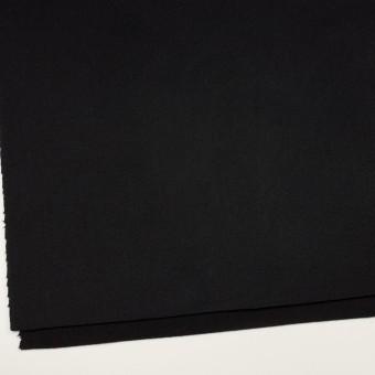 ウール&ナイロン×無地(ブラック)×ソフトメルトン サムネイル2