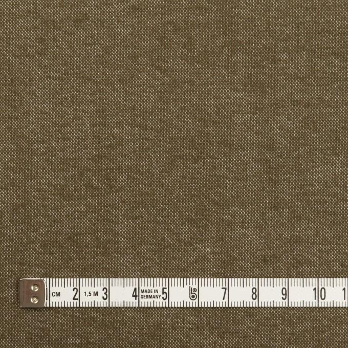 コットン×無地(オリーブ)×斜子織 イメージ4