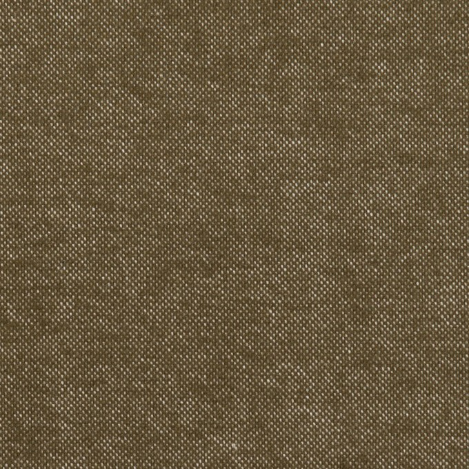 コットン×無地(オリーブ)×斜子織 イメージ1