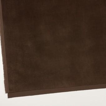コットン&ポリウレタン×無地(ブラウン)×ベッチンストレッチ_全2色 サムネイル2