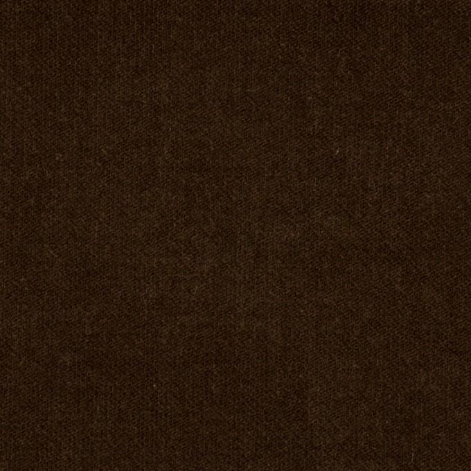 コットン&ポリウレタン×無地(ブラウン)×ベッチンストレッチ_全2色 イメージ1