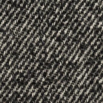 ウール×ミックス(ブラック&アイボリー)×ファンシーツイード サムネイル1