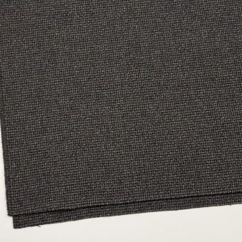 ウール×ミックス(チャコールグレー)×斜子織 サムネイル2
