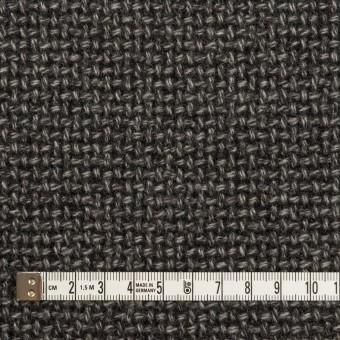ウール×ミックス(チャコールグレー)×斜子織 サムネイル4